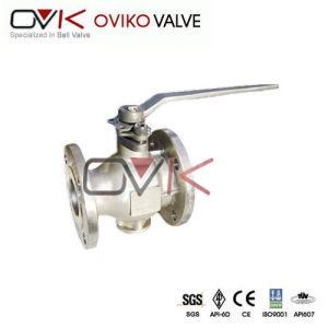 API 6D Pneumatic V Type Ball Valve
