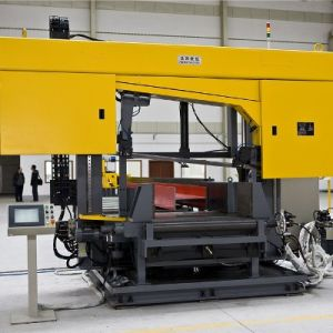 CNC Band Sawing Machine for Beams Model DJ1000 pictures & photos