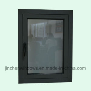 High Quality Thermal Break Aluminum Profile Casement Window with Multi Lock K03064 pictures & photos