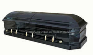 Black Finished American Type Casket 1801 pictures & photos