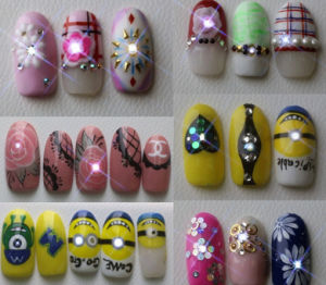 Nfc Nail Art Sticker LED Tips Light Flash Decal Accessories DIY Phone pictures & photos