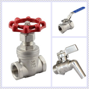 2-PC Ball Valve with Mounting Pad ISO5211 pictures & photos