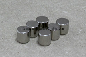 Nickle Plating Neodymium Cylinder Magnet pictures & photos