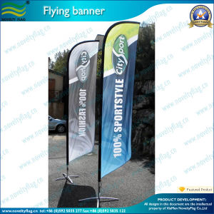 Beach Feather Teardrop Swooper Flag with Custom Desgin (T-NF04F06032) pictures & photos