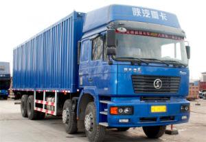 Shacman F2000 8X4 Heavy Duty Cargo Truck Van Truck pictures & photos