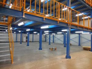 Metal Mezzanine/Steel Structure Mezzanine Platform pictures & photos