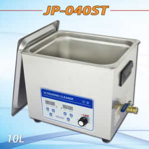 Digital Adjustable Power Ultrasonic Cleaner Adjusted Power with Timer and Heater 10L pictures & photos