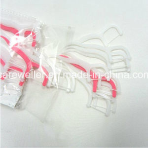 Plastic Dental Floss Pick with High Quality pictures & photos
