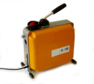 Electric Sewer Drain Cleaning Machine (S-125) pictures & photos