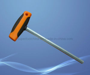 TPR Covered T-Handle Cr-V Hex Key (192300) pictures & photos