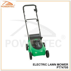 Powertec 380mm 1400W Electric Lawn Mower (PT74705) pictures & photos