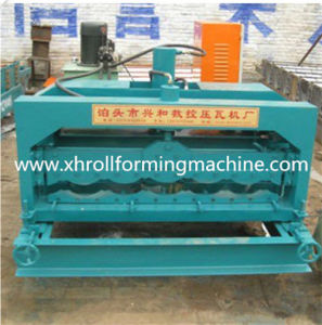 Coated Steel Roofing Roll Forming Machine pictures & photos