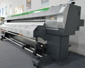3.2m Eco Solvent Digital Printer with 2 PCS Dx5/Dx7 Printheads pictures & photos