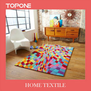 Fashion Good Modern Design Flower Floor Hand Made Rugs (T109) pictures & photos