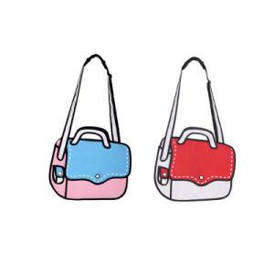 New Arrival Blue Satchel 3D Cartoon Bag