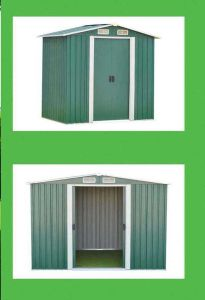 Portable Steel Structure Garden Shed pictures & photos