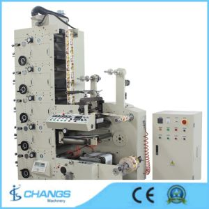 Shr-320 4-Colors Label Flexo Printing Machine (Self Adhesive Label) pictures & photos