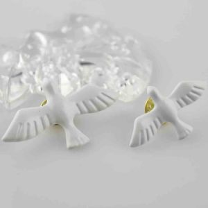 White Birds Brooch with Metal Fashion Jewelry 2017 pictures & photos