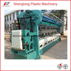 "Double Needle-Bars Warp Knitting Machine for Vegetable Bag (SL-170"") pictures & photos"