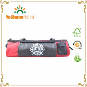 Manufacturer Zipper Openning Polyester Yoga Mat Bag Gym Yoga Tote Bag pictures & photos