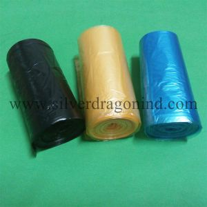 10L Plastic Trash Bag on Roll pictures & photos