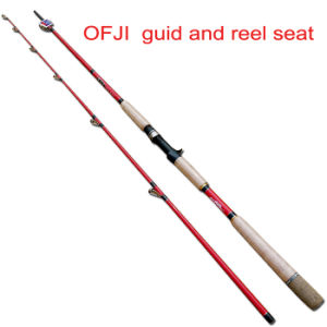 Ofji Guid and Reel Seat Torpedo Rod Black Fish Rod pictures & photos