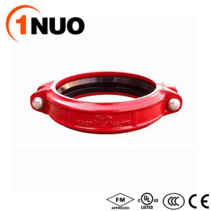 FM/UL/Ce Certified Epoxy Pipe Fittings Cast Iron Split Flange-Pn16 pictures & photos