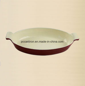 Enamel Cast Iron Fish Pan Manufacturer From China pictures & photos