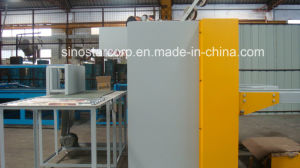 Double Servo Semi-Automatic Corrugated Carton Box Stitching Machine pictures & photos