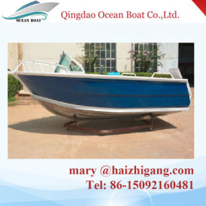 17FT 5m Runabout Aluminum Fishing Boat Runabout Boat with Ce pictures & photos