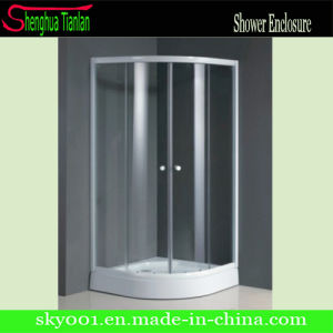 Corner New Simple Bathroom Glass Sliding Shower Box (TL-518) pictures & photos