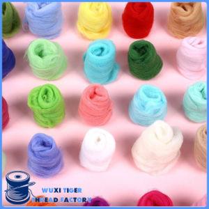 Custom Eco-Friendly Colorful Wholesale Wool Yarn Roving