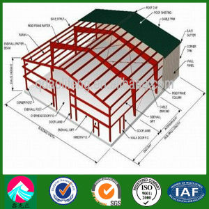 Pre-Engineered Structural Steel Chicken House Design Model (XGZ-pH021) pictures & photos