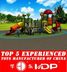 Huadong Kid′s Playground Equipment Slide (HD14-074A) pictures & photos