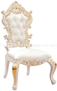 Solid Wood Classical Chair European Style Dining Chair (CT-301)