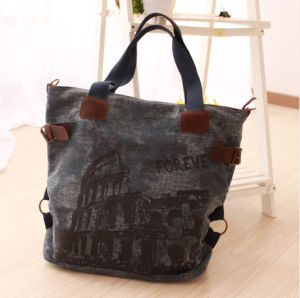 Fashion Black Lady Shopping Bags Leisure Handbags pictures & photos