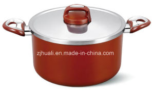 20cm Eco-Friendly Aluminum Non-Stick Casserole