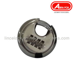 Discus Stainless Steel Combination Padlock 204 pictures & photos