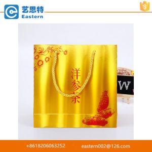 Unique Design Gold Foil Paper Shopping Bag pictures & photos