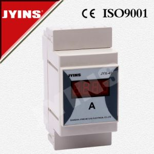 Din Rail Digital Panel Meter / Ammeter (JYX-45) pictures & photos