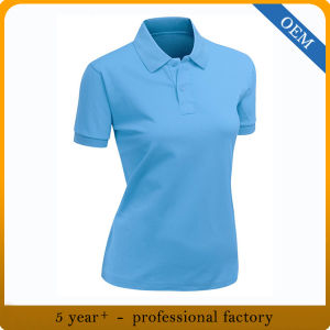 Custom Womens Dry Fit Sports Polo Shirts pictures & photos