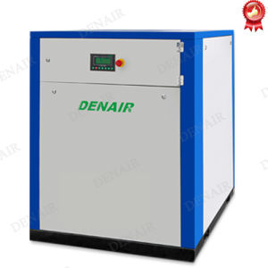 AC Cooled Belt Driven Screw Type Air Compressor 7.5 HP pictures & photos