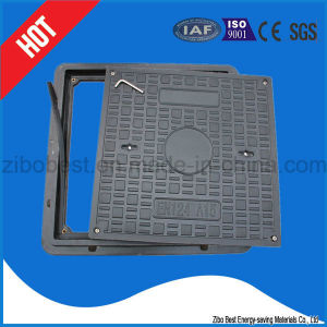 En124 Construction Material FRP/GRP Gully Manhole Cover and Frame pictures & photos