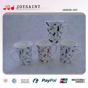 New Design Porcelain Coffee Mug with High Quality (JSD008-002)