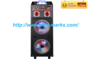 New MP5 Portable Trolley DJ Stage Karaoke Home Theater Speaker pictures & photos