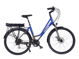 700c Size Electric City Bicycle with 250W Tub Motor pictures & photos