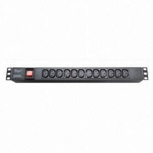 PDU, IEC Plug Socket, 12-Way Size 1u 10A, 19-Inch pictures & photos