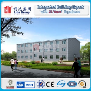 Three Floors Sandwich Panel Prefab Hotel pictures & photos