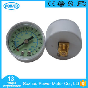 40mm White/Black Steel/Plastic Case Medical Pressure Gauge pictures & photos