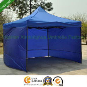 3mx3m Folding Tent Gazebos with Three Sidewalls for Rental (FT-3030SW3) pictures & photos